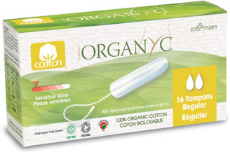 Organyc Regular Tampons (Light)