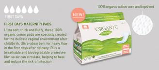 Organyc Maternity (First Days) Pads