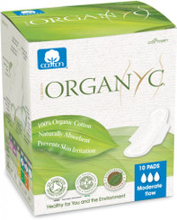 Organyc Ultra Thin Pads - Moderate Flow