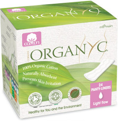 Organyc Ultra Thin Panty Liners - Light