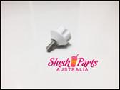 BRAS - Screw Knob White for Condensor Panel