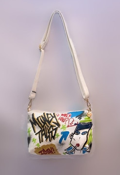 'MONEY TALKS'  SHOULDER BAG
