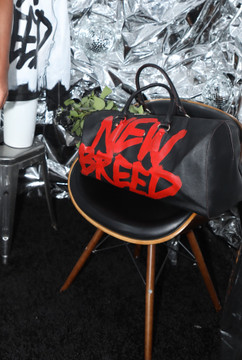 NEW BREED RED FONT DUFFLE