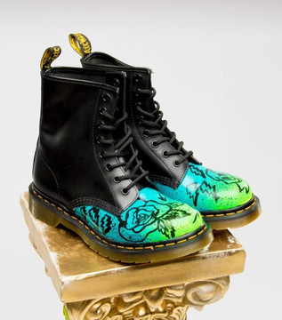 "Custom Dr. Marten ""Daydreamer"" Boot"