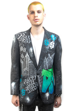 'CITY DREAMING' BLAZER