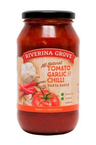 Pasta Sauce - Tomato, Garlic & Chilli 500g