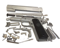 "1911 80% Build Kit 5"" .45 ACP Forged 416R Stainless with Checkered Grip and Para or Novak Sight Cuts"