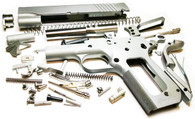 "1911 80% Build Kit 4.25"" .45 ACP Bobtail Commander Forged 4140 Steel Frame with Novak Sight Cuts"