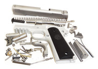 "1911 80% Build Kit 5"" .45 ACP Billet 7075 Aluminum Frame with Rail and Para or Novak Sight Cuts"