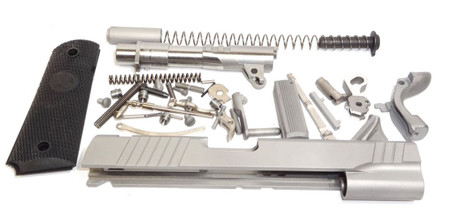 """1911 80% Completion Kit 5"""" .45 ACP 416R Stainless Para Sight Cuts"""