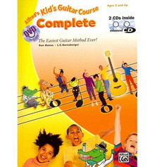 Alfred's Kid's Guitar Course 1 (Book, 2CDs)