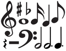 Music Symbols Accent Pack