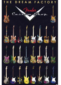 Poster Fender® Dream Factory 24x36