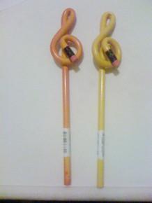 Bent Pencil Orange Colour Changing