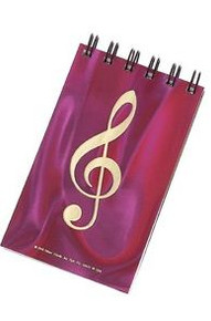 Notebook Hologram G-Clef