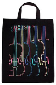 Tote Bag Four Color Violin XL
