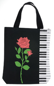 Tote Bag Keyboard with Rose