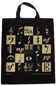Bag -Music Motif Tote XL