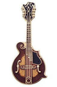 Mini Pin F-5 Mandolin