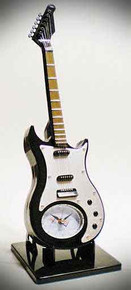 Clock Alarm Electric Guitar