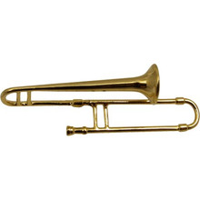 Brooch Trombone Gold