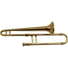 Brooch Trombone Gold