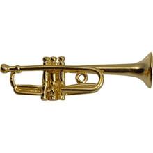 Brooch Trumpet Gold