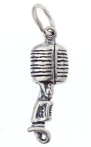 Charm/Pendant Microphone Old Style