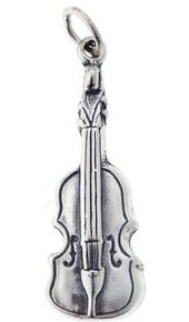 Charm/Pendant Sterling Silver Violin