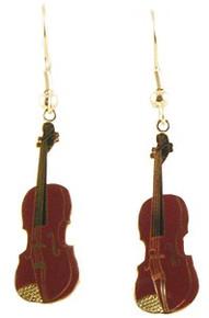 Earrings Violin