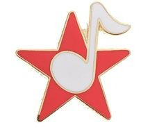 Mini Pin Star w/Note