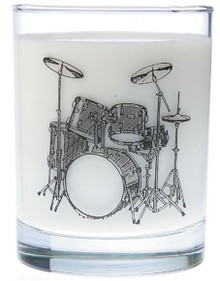 Glass Tumbler Drum Set