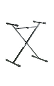 K&M 18969 X-Style Keyboard Stand for Kids (Black)