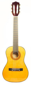 Barcelona 30-Inch 1/2-Size Nylon String Classical Acoustic Guitar - Natural