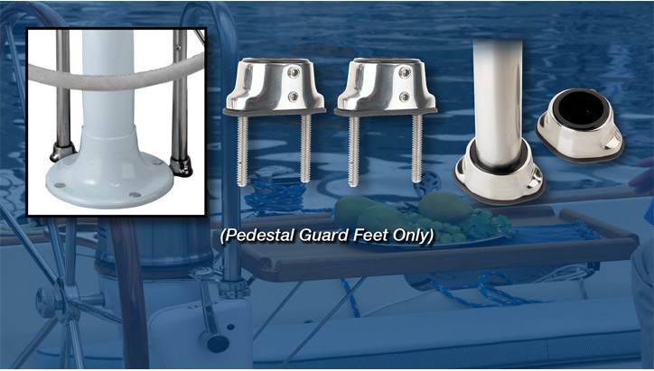 Pedestal Guard Feet