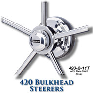 420 Bulkhead Steerer - 11 Tooth Sprocket - Tapered Shaft (With Brake)