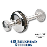 418 Bulkhead Steerer - 11 Tooth Sprocket - Tapered Shaft (With Brake)
