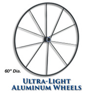 60-inch Ultra-Light Aluminum Wheel