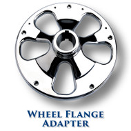 Wheel Flange Adapter Tapered Shaft