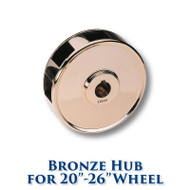 Bronze Hub for 20-inch to 26-inch Dia. Wheels