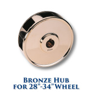 Bronze Hub for 28-inch to 34-inch Dia. Wheels
