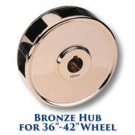 Bronze Hub for 36-inch to 42-inch Dia. Wheels