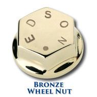 "Bronze Wheel Nut - 5/8""-18 Shaft Threads"