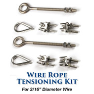 3/16-inch Wire Rope Tensioning Kit - 187