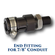 "Conduit End Fitting for 7/8"" Conduit"