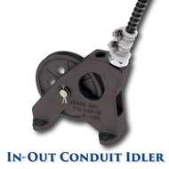 "In-Out Conduit Idler with Needle Bearings - 6"" Sheave"