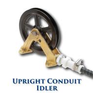 "Upright Conduit Idler - 6"" Sheave"