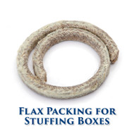 Flax Packing for Stuffing Boxes