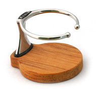 Single Drink Holder - Teak Base
