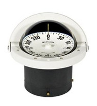 "Ritchie Navigator Compass Flush Mount - White - 4-1/2"" Dial"